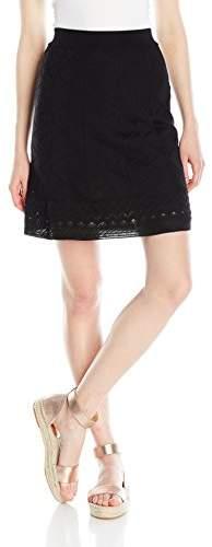 M Missoni Women's Black Knit Skirt