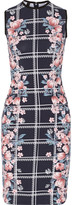 Mother of Pearl Edme floral-print stretch-cotton dress