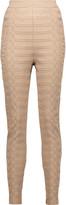Balmain Jacquard knit skinny pants