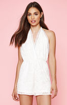 KENDALL + KYLIE Kendall & Kylie Embroidered Halter Romper