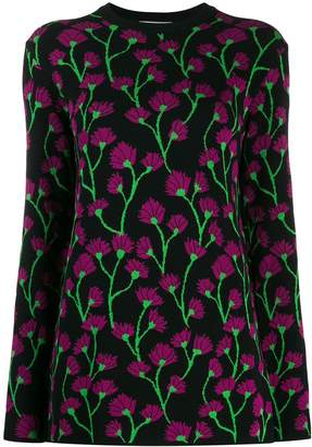 Blumarine Be Floral Knitted Jumper
