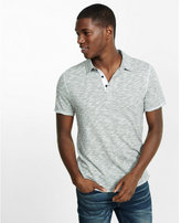 Express marled polo