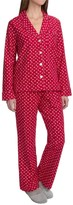 Carole Hochman Holiday Landscape Flannel Pajamas - Long Sleeve (For Women)