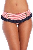 Betsey Johnson Carousel Skirted Bikini Bottom
