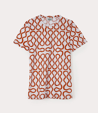 Vivienne Westwood Squiggle T-Shirt White/Red