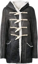 Rick Owens Toogle hooded jacket