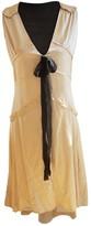 By Malene Birger Beige Silk Dress for Women