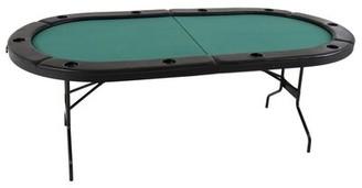 """Triumph Sports USA 84"""" 'The Gambler' Folding Poker Table Triumph Sports USA"""