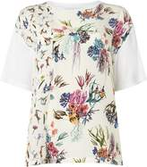 Paul Smith Marine Silk Panel Front Shirt