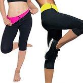 Kiwi-rata Womens Slimming Pants Hot Thermo Neoprene Sweat Sauna Body Shapers