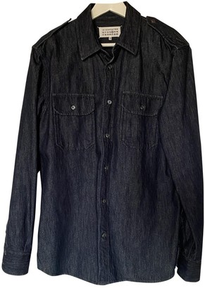 Maison Margiela Navy Denim - Jeans Shirts