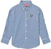 Lyle & Scott True Blue Gingham Shirt