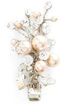 Wedding Belles New York Glass Pearl & Crystal Hair Clip