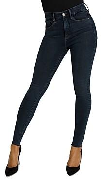 Good American Raw Edge Skinny Jeans in Blue469