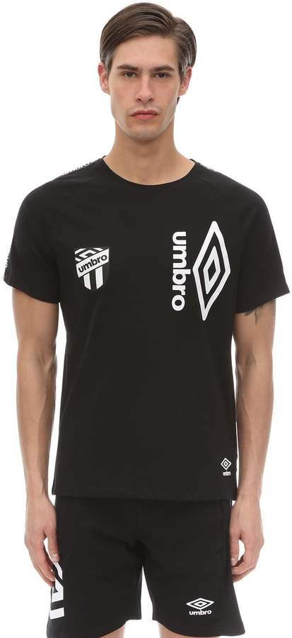 Umbro COTTON JERSEY T-SHIRT W/ SIDE BANDS