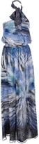 Liu Jo mixed print maxi dress