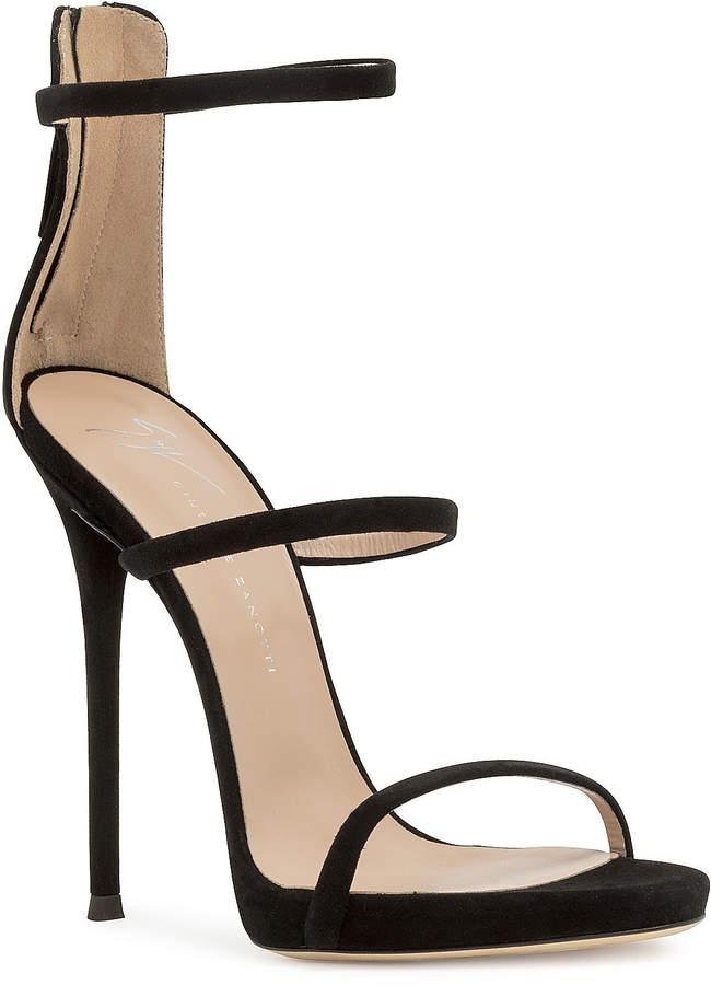 aeb579fc81b Harmony black suede sandals