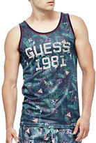 Guess Tropical-Printed Beachwear Tank