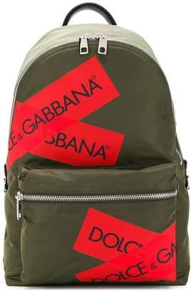 Dolce & Gabbana logo packpack