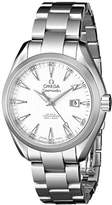 Omega Women's 231.10.34.20.04.001 Aqua Terra Ladies Automatic 34mm Analog Display Swiss Automatic Silver Watch