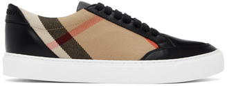 Burberry Black New Salmond Sneakers