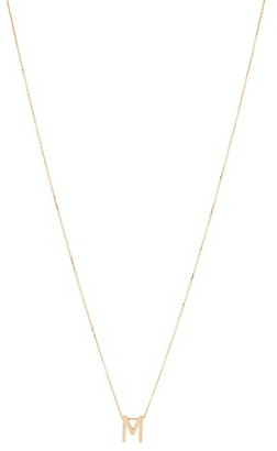 VANRYCKE Alphabet Necklace M