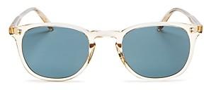 Garrett Leight Men's Kinney Square Sunglasses, 47 mm
