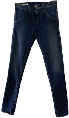 Cycle Blue Cotton - elasthane Jeans for Women