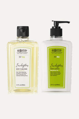 C.O. Bigelow Eucalyptus Body Lotion And Cleanser Set