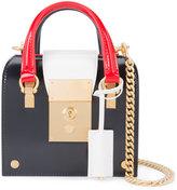 Thom Browne colour blocked box bag