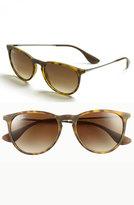 Ray-Ban Women's 'Erika Classic' 54Mm Sunglasses - Black/ Grey Gradient