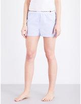 Tommy Hilfiger Iconic cotton-poplin pyjama shorts