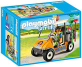 Playmobil NEW City Life Zookeeper with Cart