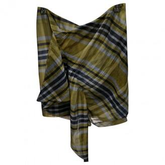 Birgitte Herskind Yellow Silk Skirt for Women