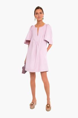 Pomander Place Lilac Finley Flutter Sleeve Dress