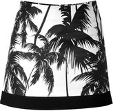 Fausto Puglisi Palm Tree Mini-Skirt