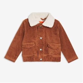 Joe Fresh Baby Boys' Corduroy Jacket, Dark Bronze (Size 12-18)