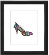 """PTM Images Colorful Pump I Giclee Framed Art - 14\"""" x 16\"""""""