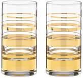 Kate Spade Hampton Street Highball Glass, Set of 2