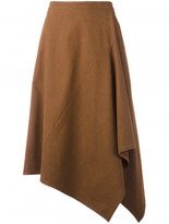 Stella McCartney asymmetric midi skirt