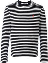 Ami Alexandre Mattiussi long sleeved T-shirt AMI De cœur embroidery - men - Cotton - XS