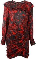 Isabel Marant 'Irvin' dress - women - Silk/Spandex/Elastane/Lamb Skin - 40