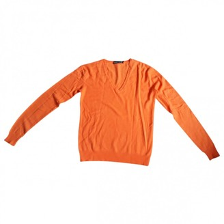 Polo Ralph Lauren Orange Cashmere Knitwear