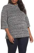 Vince Camuto Plus Size Women's Elbow Sleeve Sweater