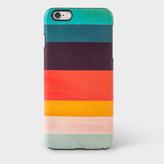 Paul Smith Artist Stripe Leather iPhone 6 Plus Case