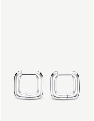 Thomas Sabo Heritage sterling silver squared hoop earrings