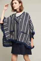 Sleeping On Snow Tajo Jacquard Poncho