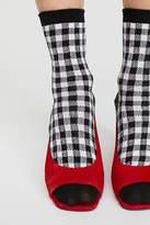 B.ella Gingham Crew Sock