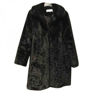 Gerard Darel Black Faux fur Coat for Women