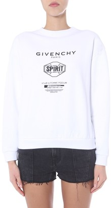 Givenchy Logo Printed Sweater
